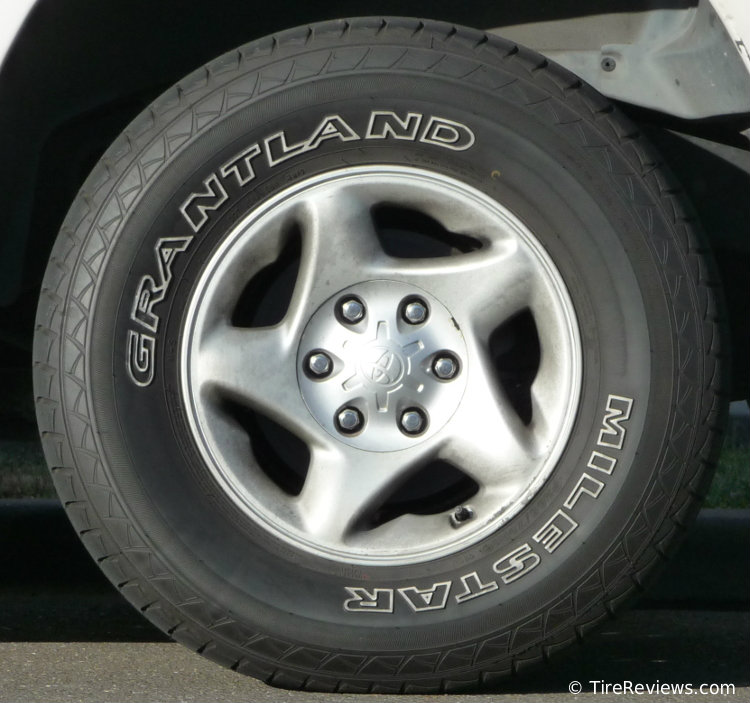 Milestar Grantland tire on Toyota 4Runner